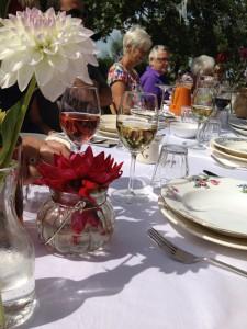familie lunch lange tafels 3