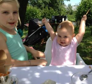 familie lunch lange tafels 5