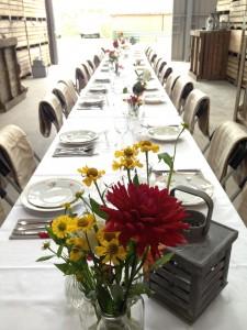 offley diner lange tafels 1